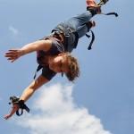 Bungee Jumping in LEIPZIG am Nordstrand des Cospudener Sees